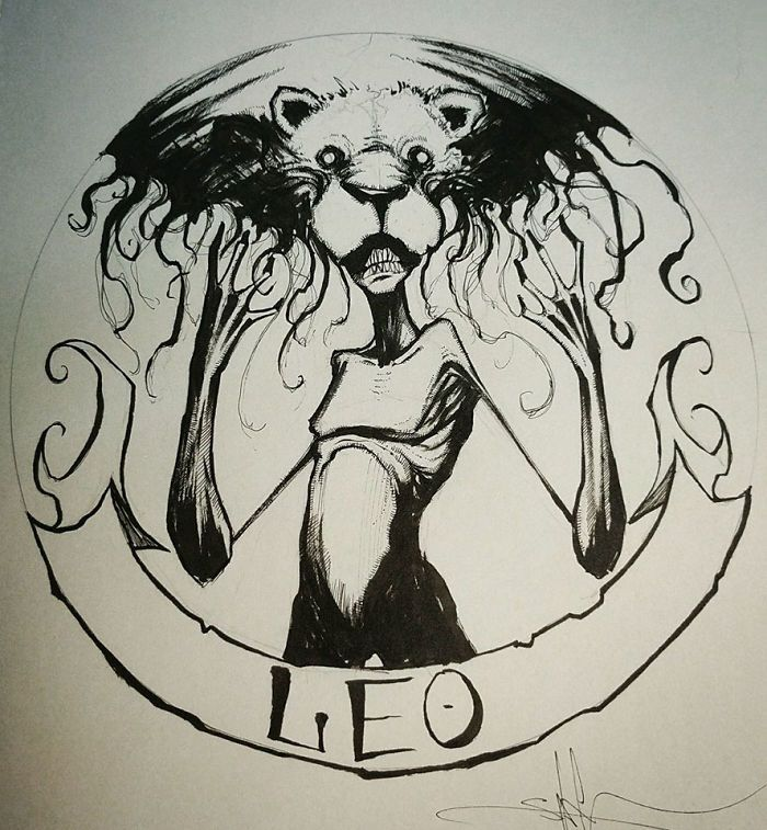 Artist Reimagines Zodiac Signs As Creepy Monsters