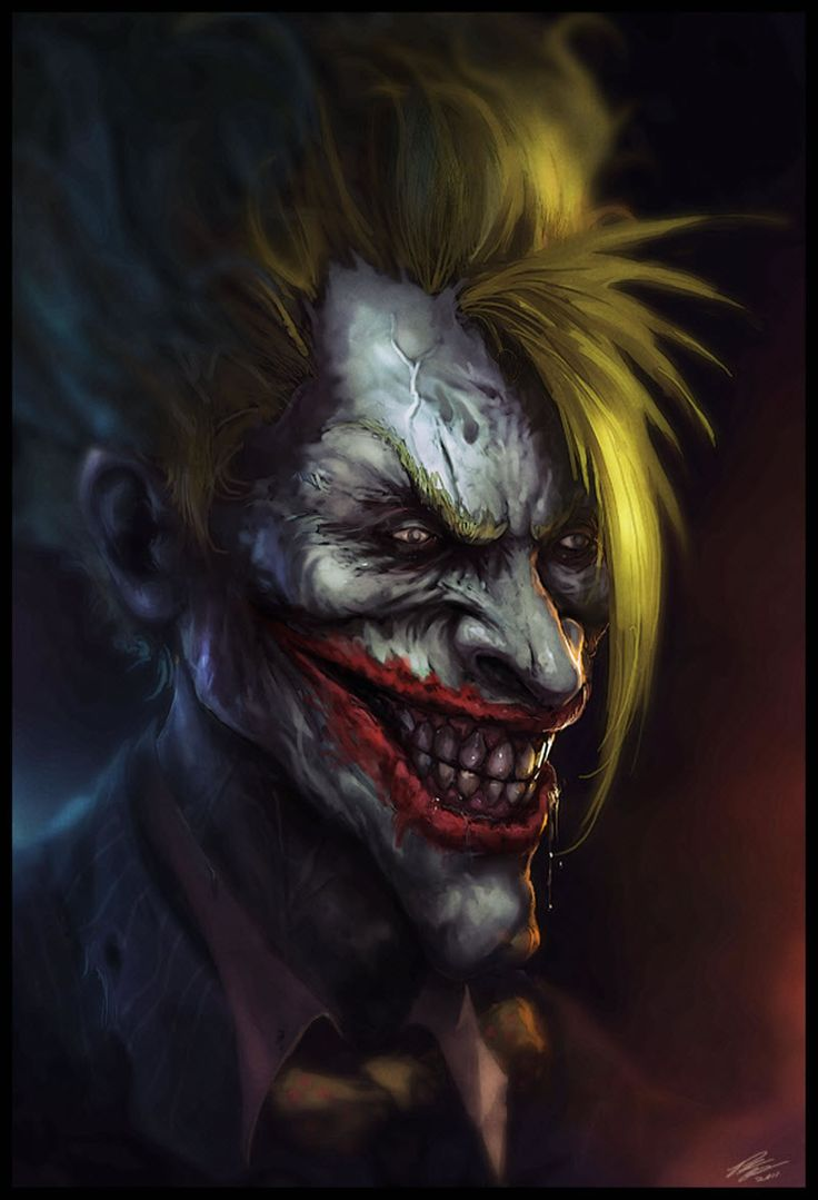 87 best Creepy Clown Art images on Pinterest | Evil clowns ... |Creepy Clown Painting