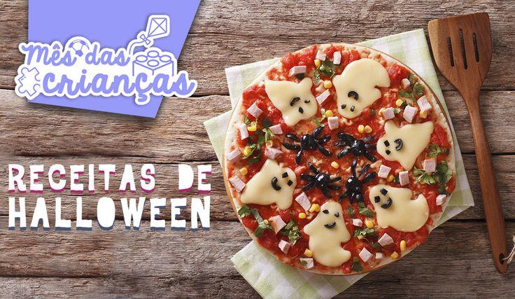 #MêsDasCriançasPullaBulla Hoje é halloween, mais conhecido como dia das bruxas aqui no Brasil! Uma data divertida para usar fantasias assustadoras e decorar a casa com fantasminhas e abóboras. Uma ideia legal é fazer comidas saudáveis e criativas decoradas com o tema!! Que tal um sanduíche de múmia ou salada de esqueleto? 😜 Além de ser diversão garantida para a criançada, também estimula a criatividade e o apetite 😋 Você confere algumas dessas receitas no link abaixo: