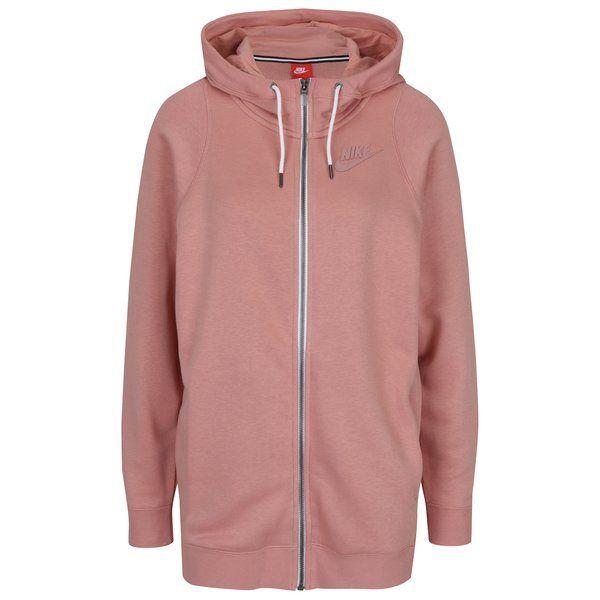 Hanorac roz pentru femei – Nike Sportswear Modern
