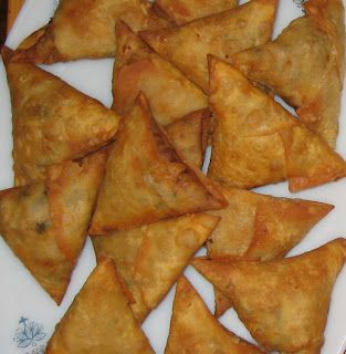 Chicken samosa from scratch