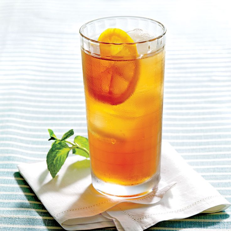 Classic Sweet Tea - August 2015 Recipes - Southern Living with mint please !