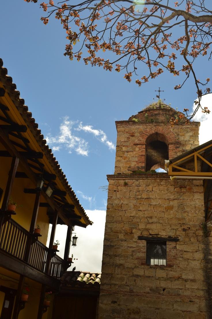 Iglesia municipio de la calera, Bogotá,Colombia