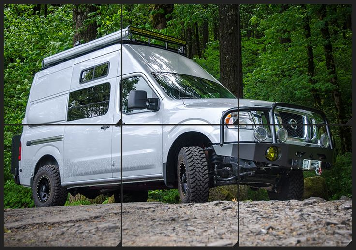 Ultimate BOV Kodiak by Outside Van Nissan NV 4x4