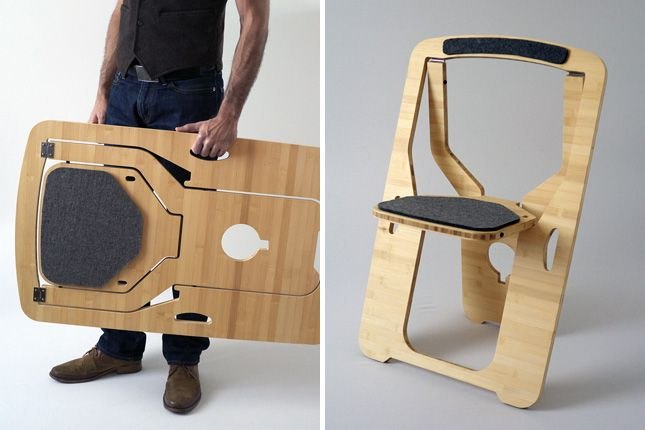 6 Cleverly Designed Pieces of Portable Furniture via Brit + Co.