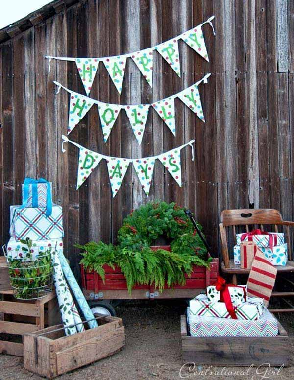 This bunting decoration is perfect for any festive occasion, birthdays, baby showers…or upcoming new year's eve party.