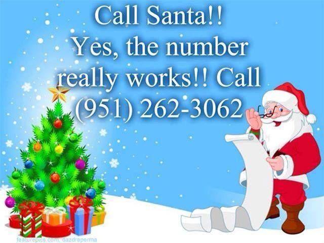 Santa's Phone Number (Call Santa for FREE!)