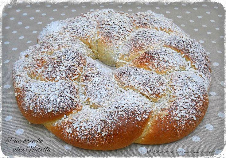 i prodotti da forno, realizzati in casa, sono molto più buoni di quelli acquistati nei bar e nelle pasticcerie, provate la treccia di pan brioche alla Nutella