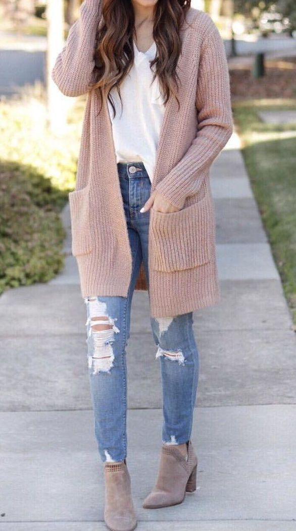 Pink Knit Cardigan This is a mega list of some of my mos t favorite cardigans….