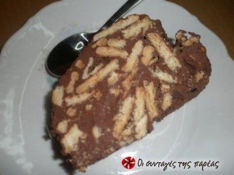 Μια κλασική συνταγή για μωσαϊκό (ή αλλιώς σαλάμι ή κορμό σοκολάτας).