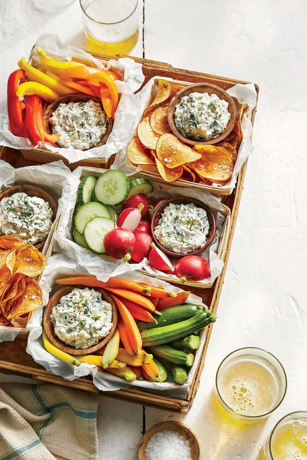 Spinach-and-Vidalia Dip - Easter Appetizers - Southern Living