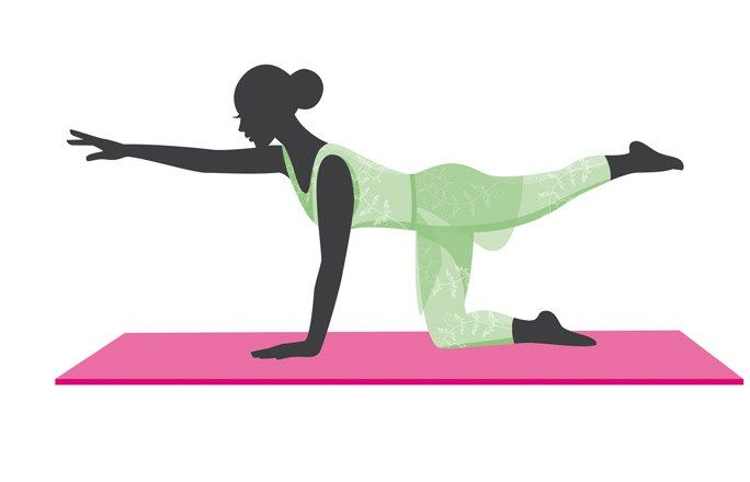 Fitness-Übungen für den Typ Birne: Rückenkräftigung