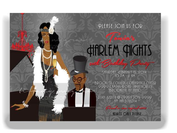 19 Best Harlem Nights Images On Pinterest 40th Birthday Beads