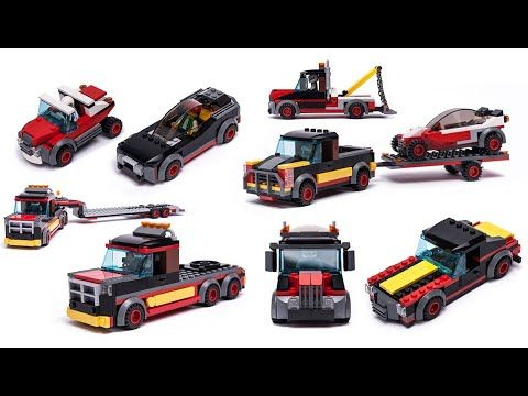 Amazing LEGO City 60183 alternative model picture