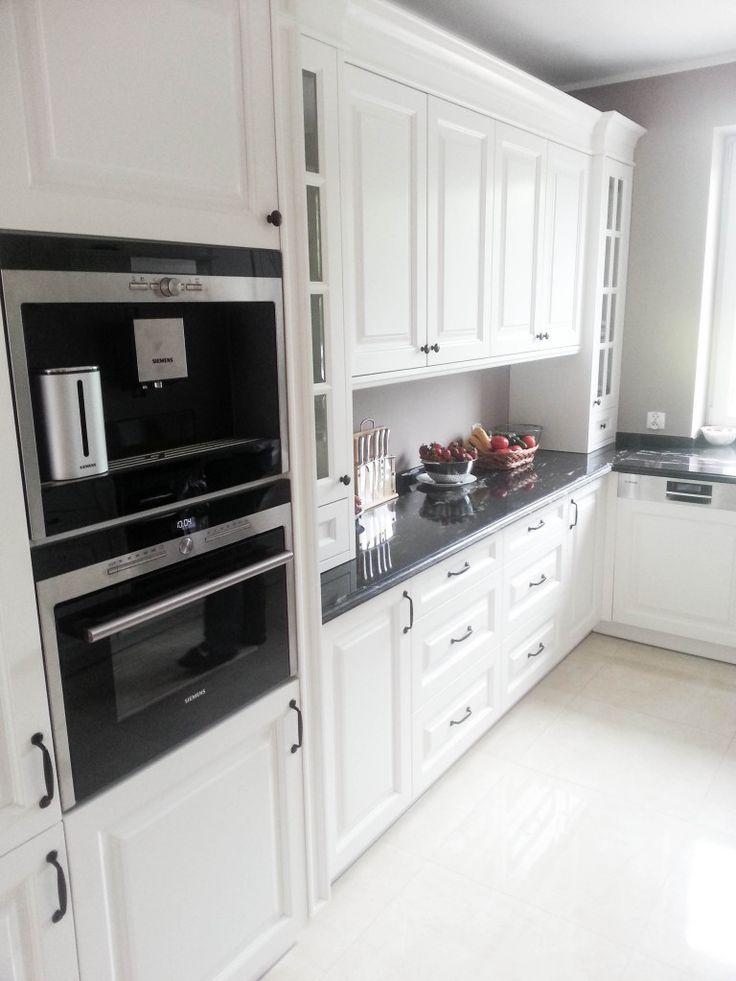 kuchnia klasyczna biała, kuchnie angielskie, meble na wymiar, classic kitchen cabinets, white traditional kitchen - wykonanie Artystyczna Manufaktura