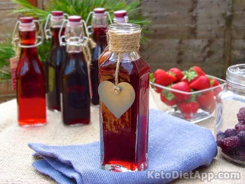 Home-made Fruit Vinegar (sugar-free) Recipe on The KetoDiet at http://ketodietapp.com/Blog/post/2013/08/22/Home-made-Fruit-Vinegar-sugar-free