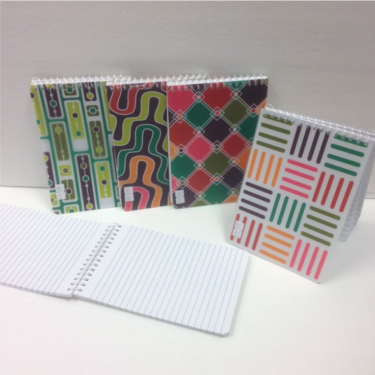 Fun Stuff - Contemporary printed note book for $2  Langham Mall Unit 2333 & 2335 Level 2, 8339 Kennedy Road, Markham, Ontario, Canada  www.OneOfAKaIND.com