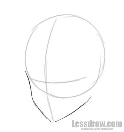 how to draw boy hair for beginners