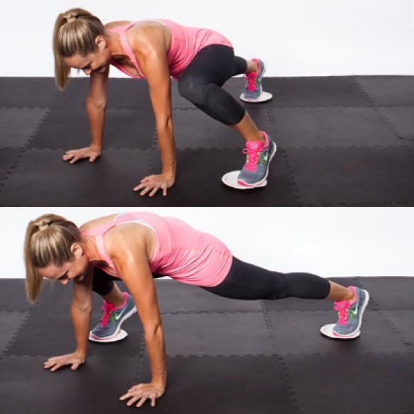 Pilates Chair Mountain Climber: 50 Best Sliding Disc Workout Images On Pinterest
