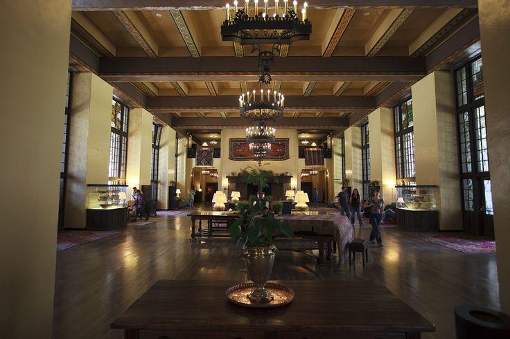 Interior #Ahwahnee Hotel, #Yosemite #theshining #kubrick