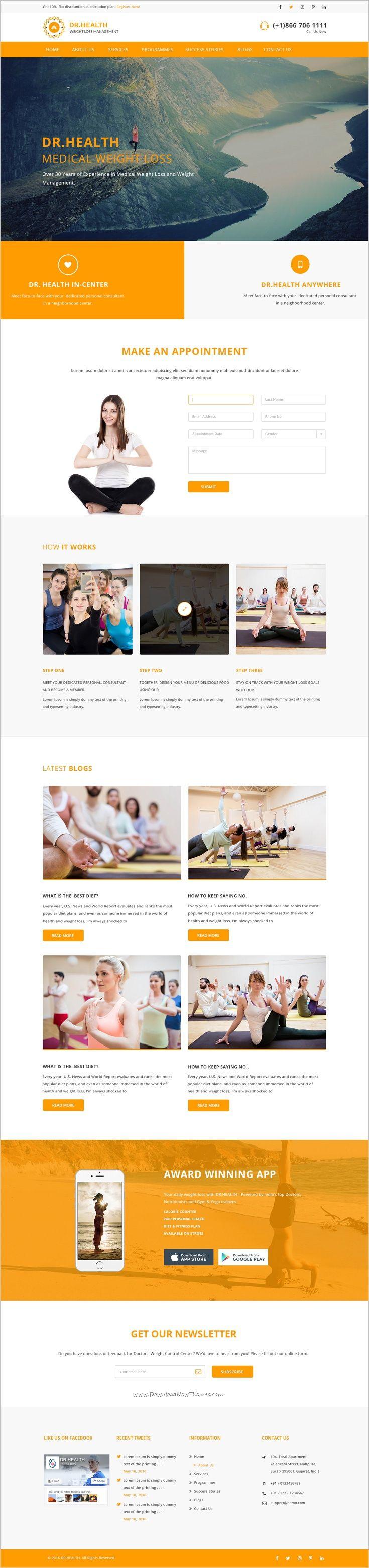 The 25 best Yoga Studio images on Pinterest | Design web, Design ...