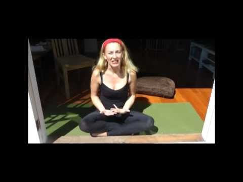 YOGA CURE for MORNING SICKNESS, PMS, NAUSEA with YogaYin - YouTube