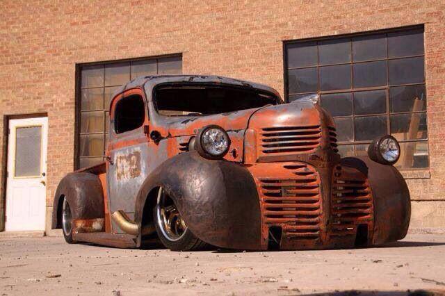 Rat Rod Truck - great deco grill