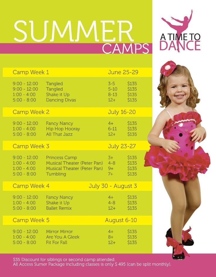 12 Free summer camp flyer templates - Demplates