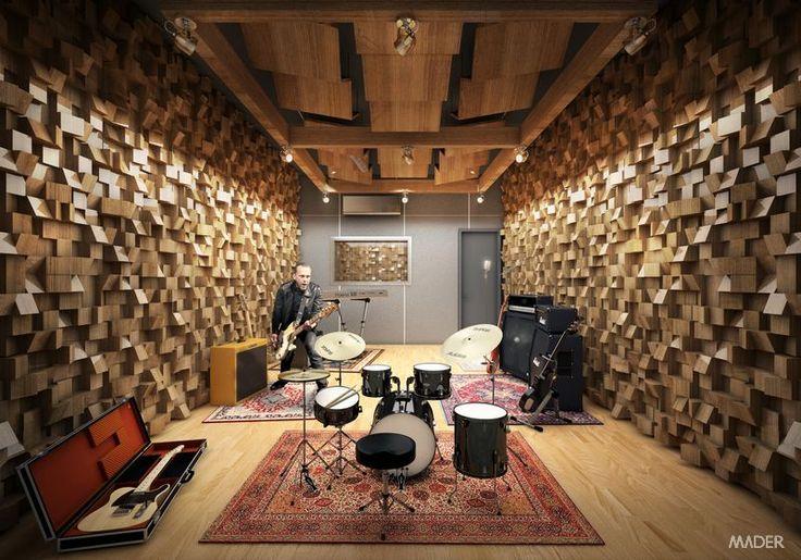 Fine Mader Music Studio Brazil Idees Pour La Maison Pinterest Largest Home Design Picture Inspirations Pitcheantrous