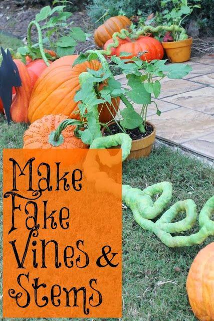 Miss Kopy Kat fake vines and stems