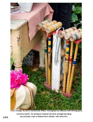 Antique Croquet Set: Event Decor Ideas, Outdoor Wedding, Croquet Set We, Wedding Ideas, Wedding Party Ideas, Croquet Set Great, Antique Croquet, Garden, Back Yard