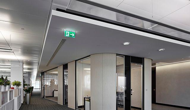 Clairage led pour le bureau zumtobel travailler - Salle de reunion avec design original enidees creatives ...