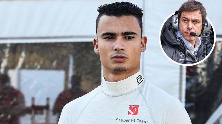 Pascal Wehrlein startet in dieser Saison für Sauber. 2016 fuhr er für Manor. Mercedes-Boss Toto Wolff fördert das Formel-1-Supertalent