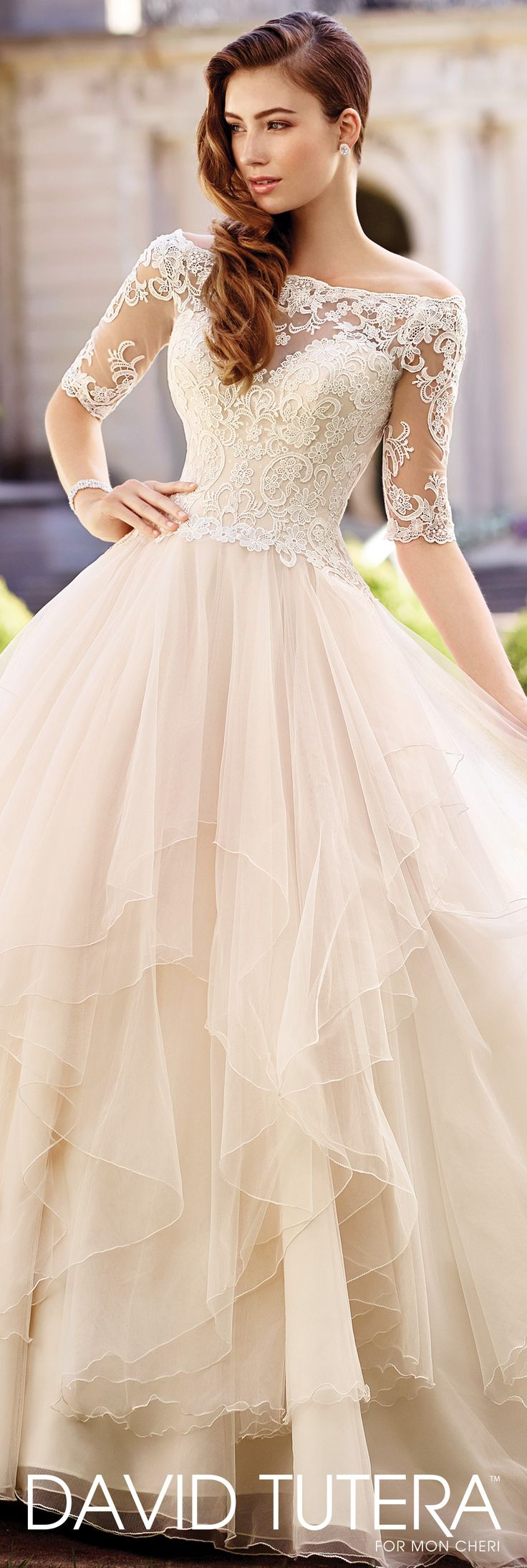 Size 20 a line wedding dress   best Wedding Dreams uc images on Pinterest  Weddings