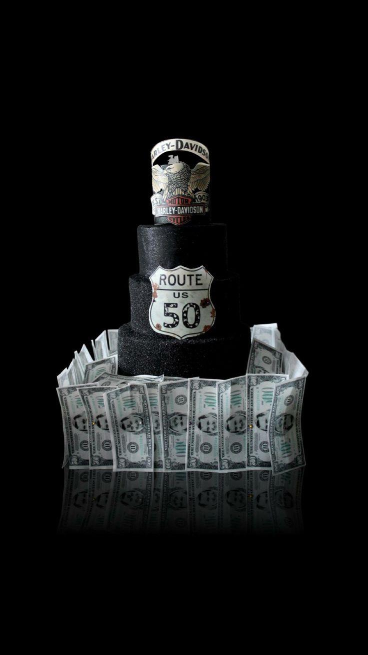 Gâteau ou même sorte de pièce montée - wedding cake sur le thème Harley - US - finance? Impossible is nothing ! Cake Shop Paris