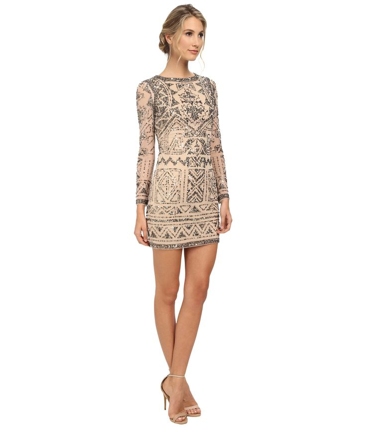 adrianna-papell-light-blush-long-sleeve-beaded-cocktail-dress-pink-product-