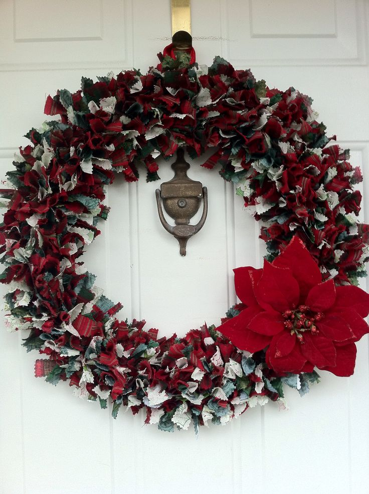 Burlap Christmas Bows