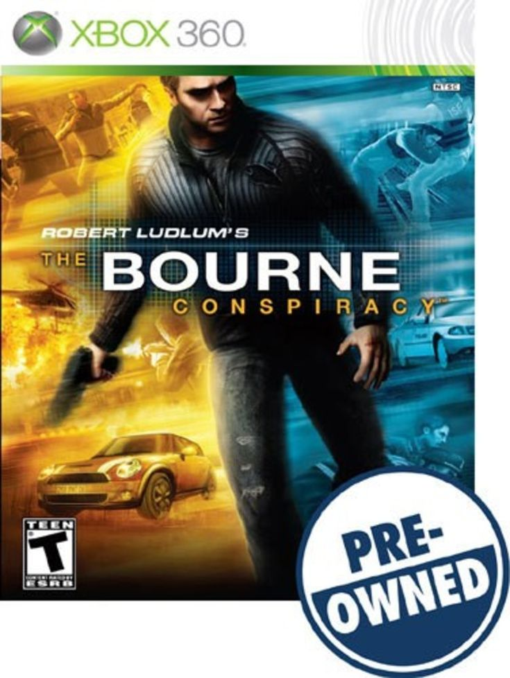 Robert Ludlum's The Bourne Conspiracy — PRE-Owned - Xbox 360