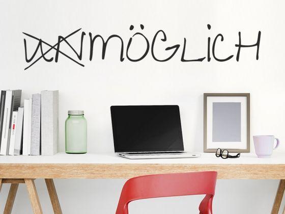 Für eine positive Gestaltung der Wände am Arbeitsplatz