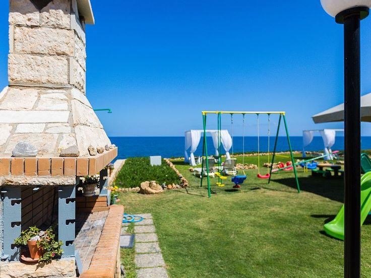 Panormos house rental - BBQ facilities available outdoors.