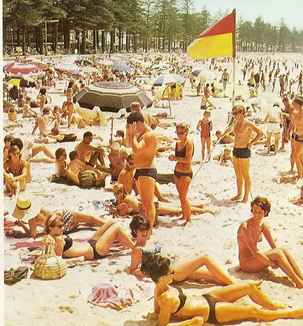 gold coast 1972. It's funny coz not much has changed in the summertime!