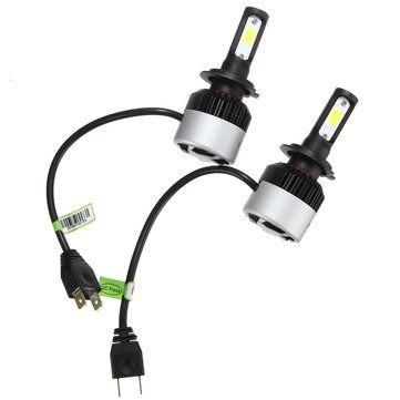Nighteye 9005 9006 H4 H7 H11 COB LED Headlight 36W 4500LM 6500K Front Lamp Bulbs Sale - Banggood.com