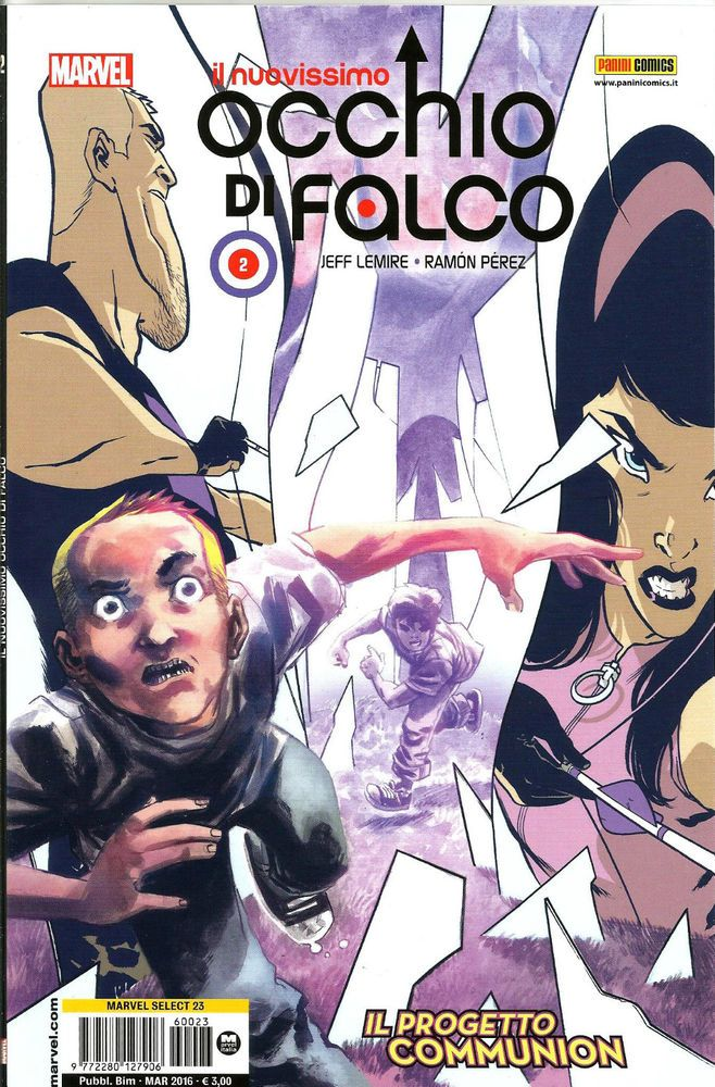 IL NUOVISSIMO OCCHIO DI FALCO N. 2 ED. PANINI COMICS