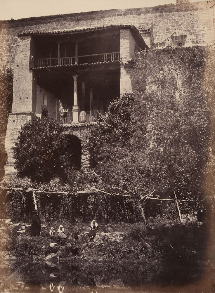 Charles Clifford (1819-62) - Photographic Souvenir of Spain vol.I: Ruins of Palace of Yuste, Estremadura, 1857-58