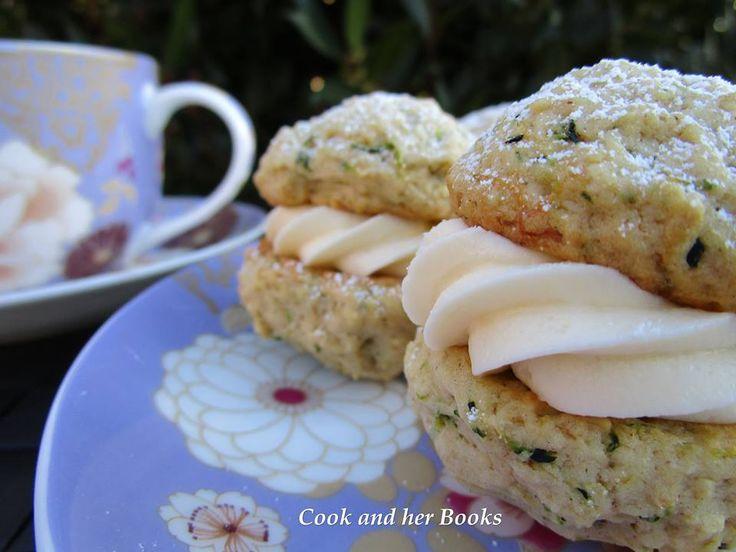Zucchini Cream Cheese Biscuit - facebook.com/cookandherbooks/