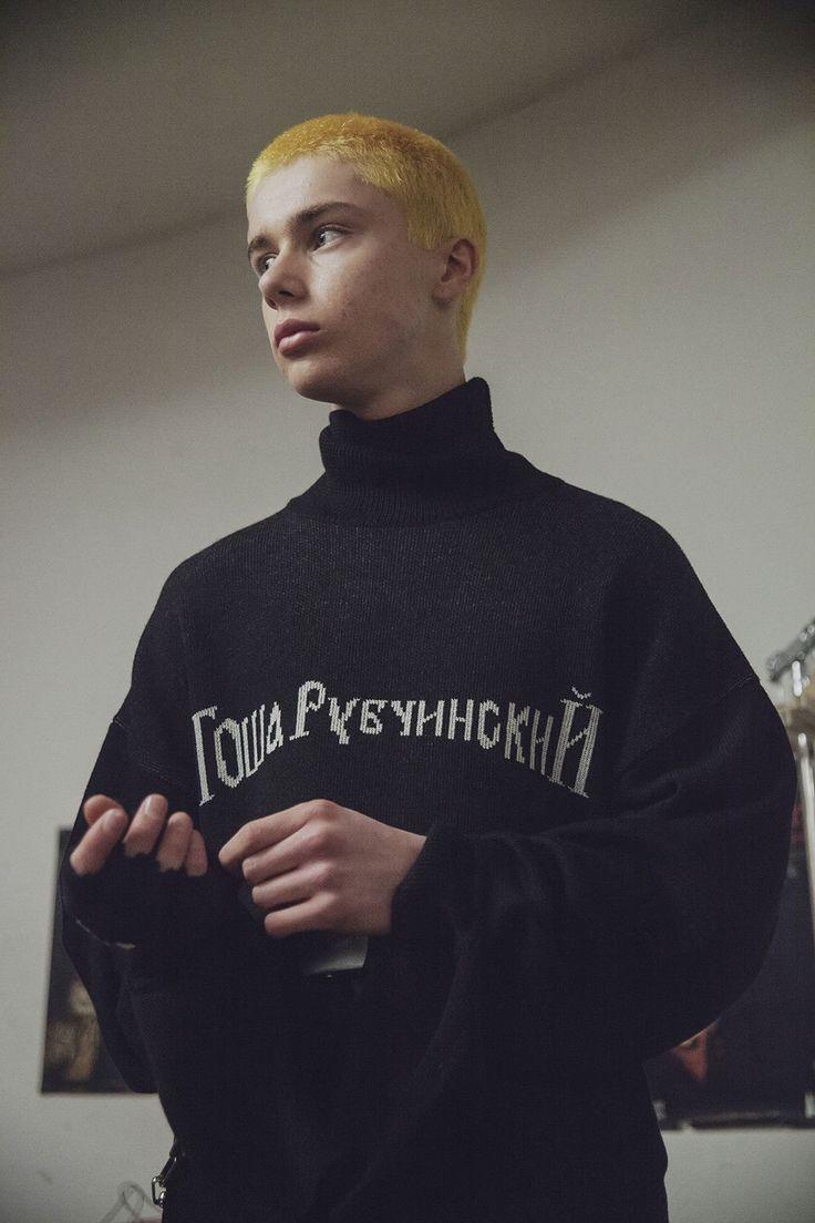 Gosha Rubchinskiy fall/winter 16 Backstage Photography Masha Demianova
