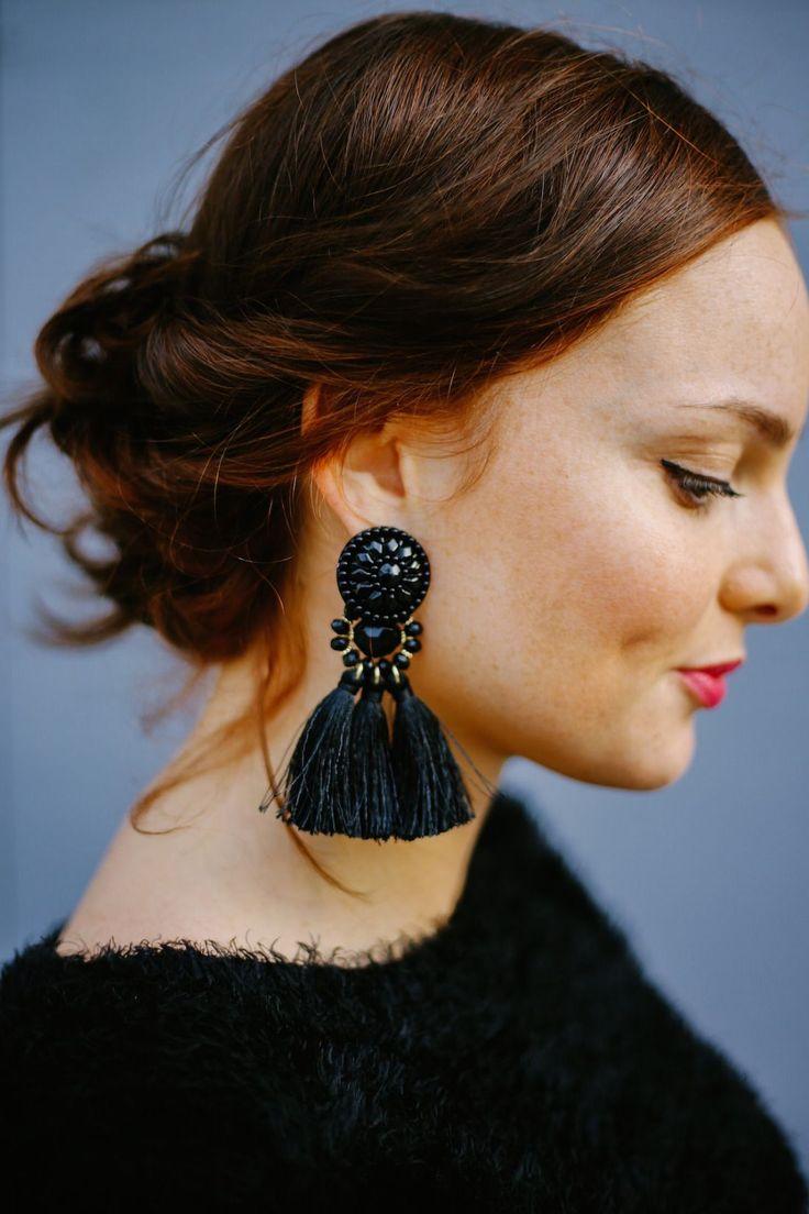 pendientes de fiesta invierno blog moda earrings fashion blogger