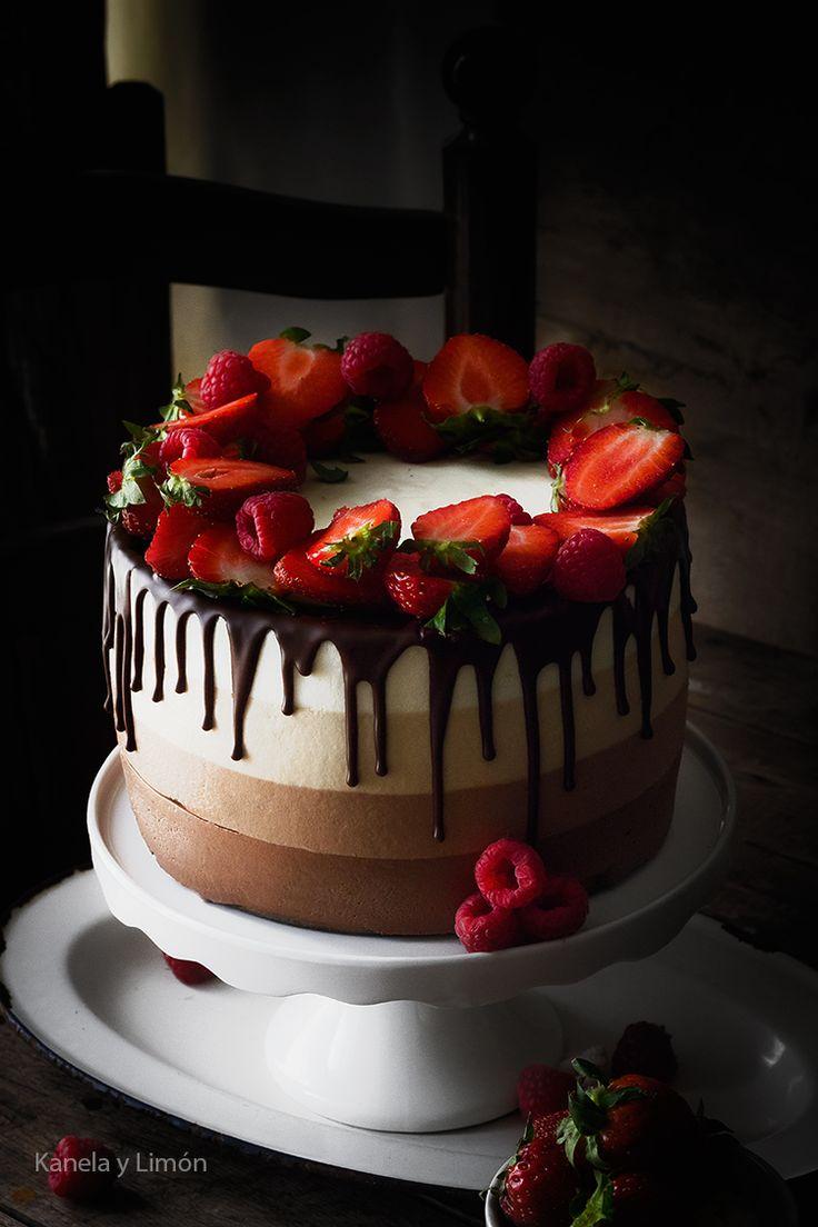 Cheesecake 4 chocolates