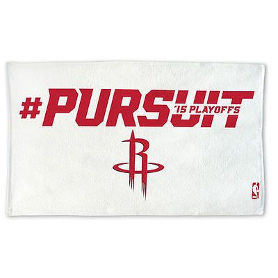 WinCraft Houston Rockets 2015 Playoffs Slogan On-Court Bench Towel