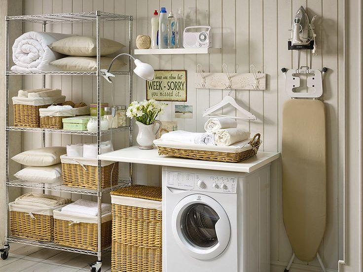 Orden en la lavandería